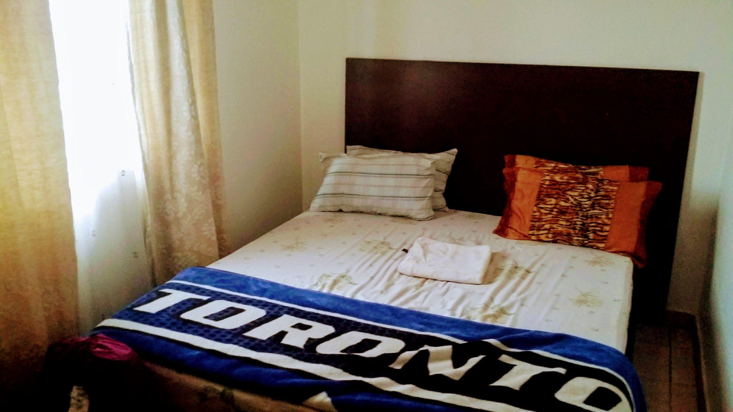 ウガンダのホテルの様子